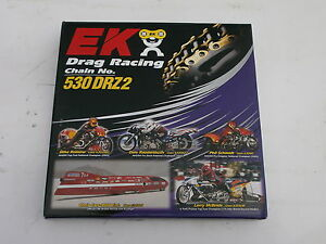 GSXR1300  Drag Race chain.  EK 530 drz2 x 150l.  The strongest 530 pitch chain