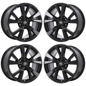 18 Fits Nissan Maxima Black Wheels Rims Factory Oem 2017 2018 62721