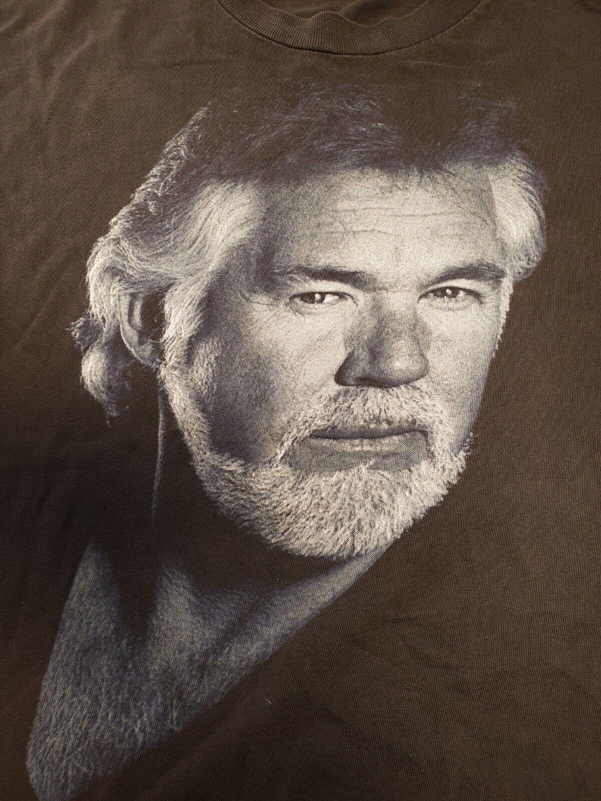 Vintage Kenny Rogers Shirt 1994 Winterland Black … - image 2