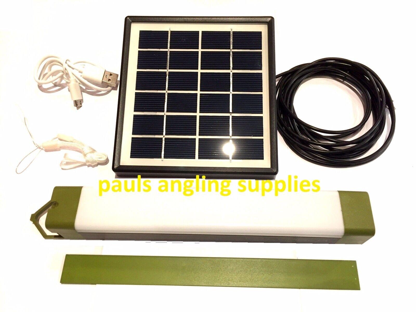 LITESABER  Fishing Bivvy Light Power Bank Charging Function & Solar Panel Option