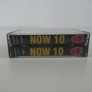 Now Thats What I Call Music Double Cassette Box Vol 10 30 Top Chart Hits Music