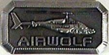 Airwolf Series Helicopter Logo Pin