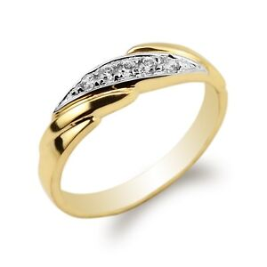 Image Is Loading 10K 14K Yellow Gold Two Tone Colored Luxury
