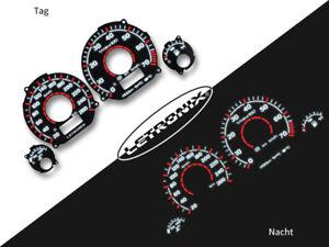 LETRONIX-Plasma-Tacho-Tachoscheiben-EL-Dash-Golf-3-VR6-20-260Km-h-Black