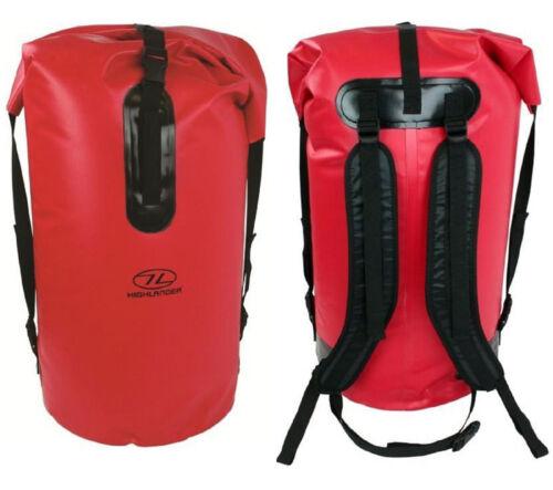 Voyage épaule sac à dos sac à dos imperméable sec sac duffle Pack jour 70L Rouge