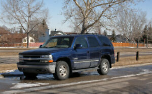2002 Tahoe LT 4x4 AUTORIDE ~~ 3rd Owner ~~ Only 271,500 km.
