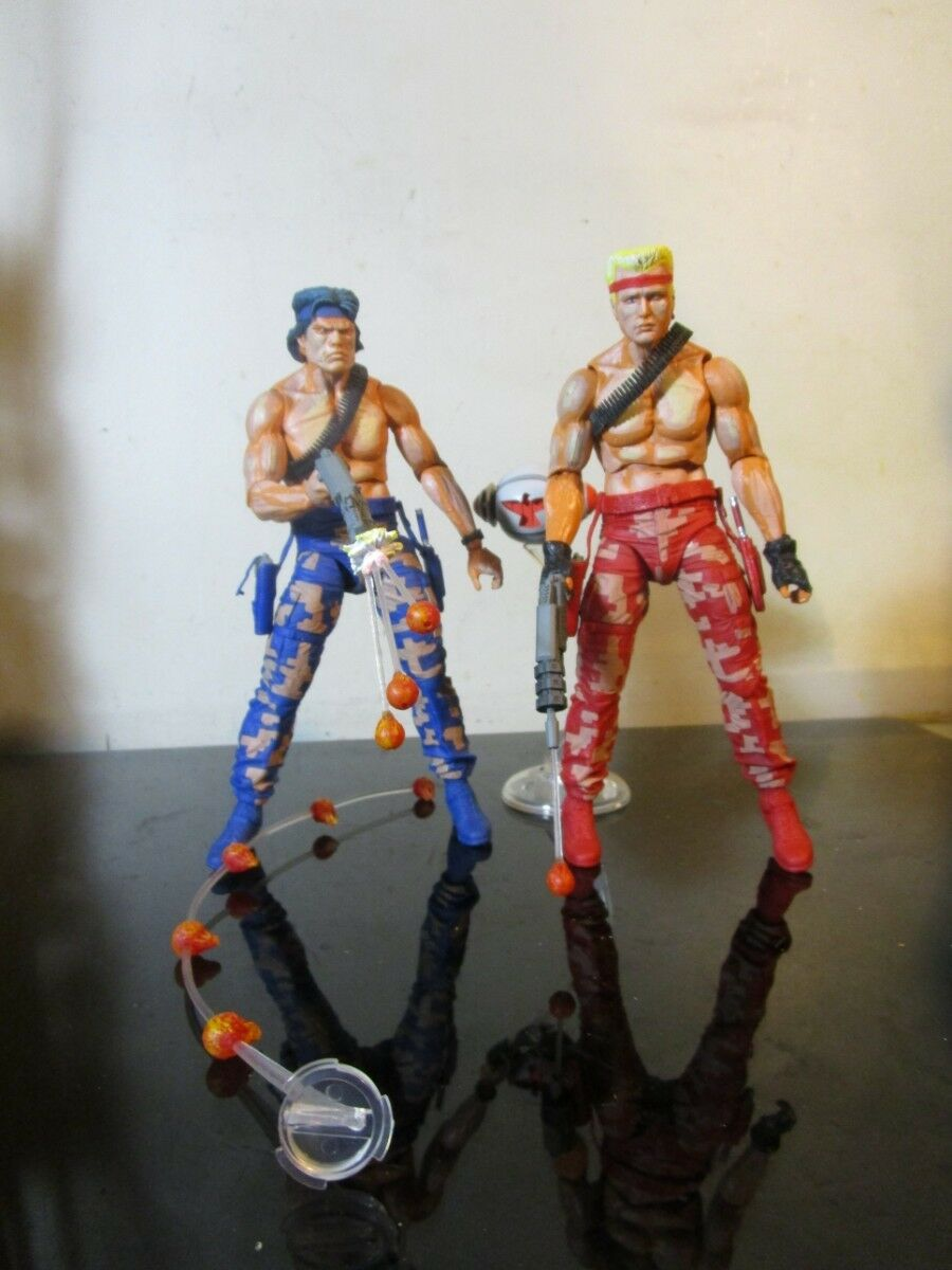 NECA Contra Bill & Lance Video Game Appearance Action Figure Figure Figure lot loose e72167