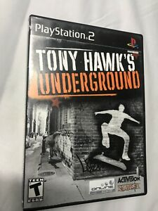 Tony-Hawk-039-s-Underground-Sony-PlayStation-2-PS2-Complete-w-Manual-Tested