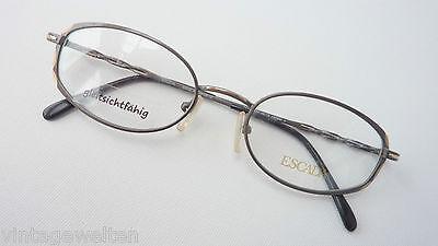 Escada Brille Elegante Designerbrille Grau Markenfassung Für Frauen 49-19 Gr. M Um Sowohl Die QualitäT Der ZäHigkeit Als Auch Der HäRte Zu Haben