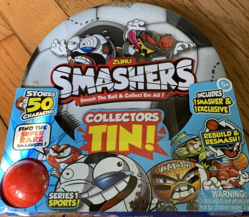 Zuru Smashers Collectors Tin série 1 sport NEUF