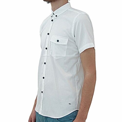 Camicia Maniche Corte Ss By Oxford Marc Shirt Shirting White Jacobs wqTxE