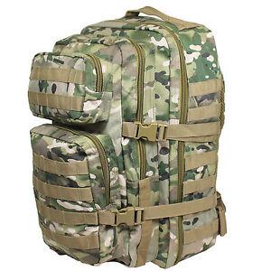 Camouflage Sac Assault dos Big 36l Soft Multitarn ᄄᄂ TlJcFK1