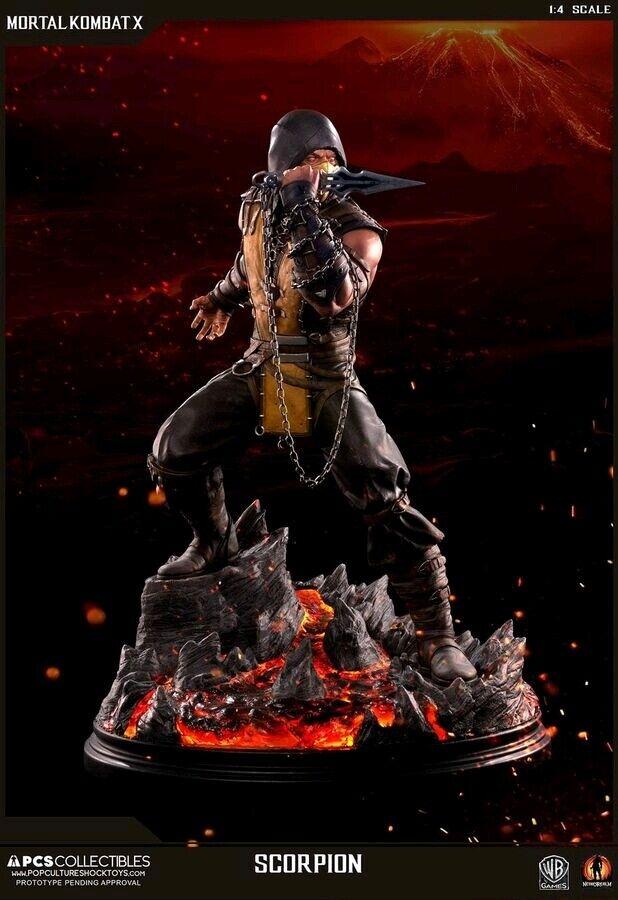 Mortal Kombat X-Scorpion 21  1 4 Escala Estatua