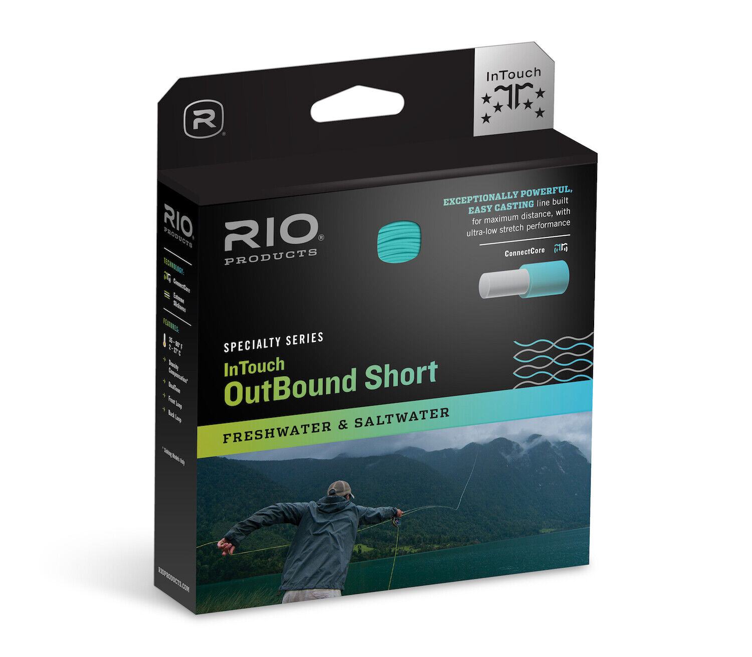 RIO InTouch Outbound Short WF8IS3 Fly Line