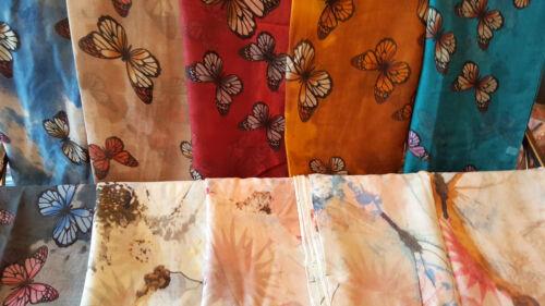 Joblot 24 pcs Butterfly design scarf scarves shawl Wrap wholesale 90x180cm C