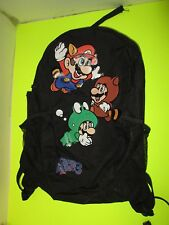 "NINTENDO SUPER MARIO Bros 3 Medium Size Backpack 18"" By 12"" By 5"""