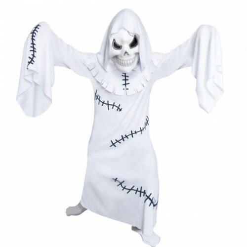 Boys Ghastly Ghoul Halloween Fancy Dress Outfit Costume