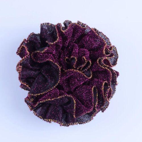 1PC Velvet Flower Hair Scrunchies Ties Elastic Hair Bands Ropes Hair Accesories