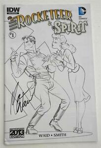 New-SIGNED-Mark-Waid-SDCC-2013-Exclusive-The-Rocketeer-the-Spirit-Pulp-Friction
