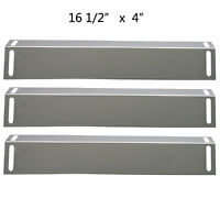 Bbq Grillware Gas Grill Heat Plate Stainless Steel Heat Shield Spx151-3pack