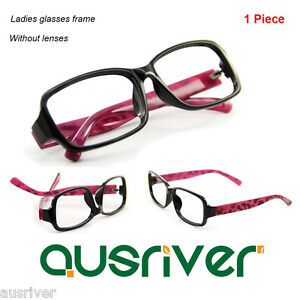 d07c14a69a Details about Brand New Ladies Glasses Frame Fashion Full Rim Spectacles Frame  without Lenses
