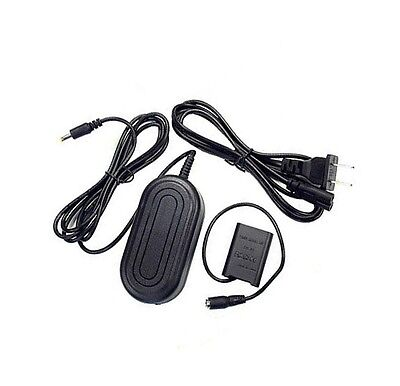AC Adapter + DC Coupler for Sony HDR-AS200VT HDR-AS200VW HDR-AS200VB HDR-AS200VR