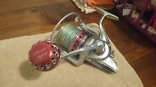 UJ PRK 45mm knob for Daiwa Saltiga Surf SEABORG TANACOM BULL FE reel Red/SV