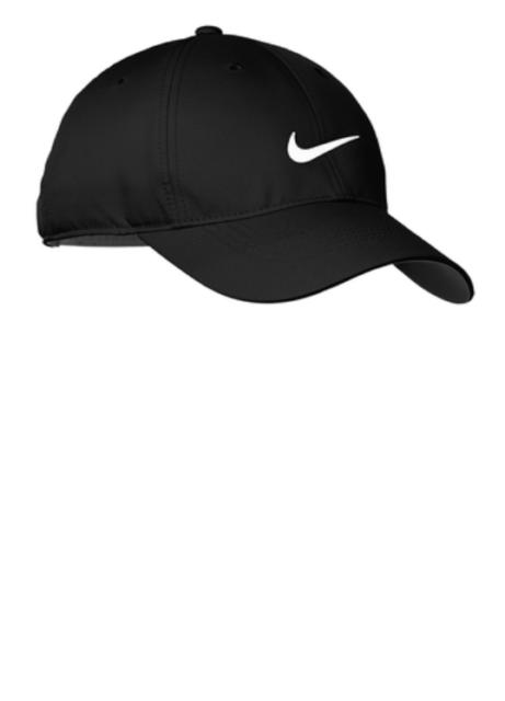 NIKE Dri-Fit Swoosh Front Hat Mens Adjustable Cap 548533 - black white b0966db822fd