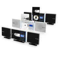 Auna Vcp-191 Mp3 Cd Player Vertikal Design Radio Stereoanlage Usb Sd Aux Lcd