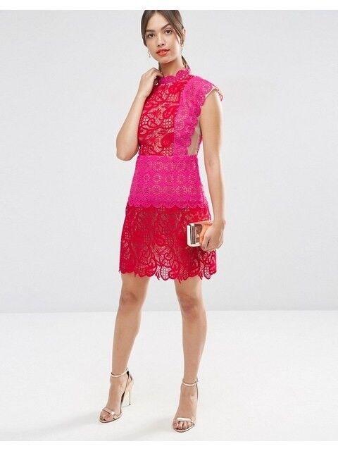 Asos Lace Dress Size 10