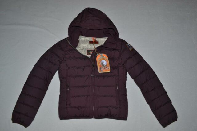 AUTHENTIC PARAJUMPERS JULIET GIRLS DOWN JACKET BORDEAUX SIZE 10 KIDS BRAND NEW