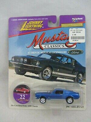 Johnny Lightning Mustang Classics # 5 1967 Shelby Gt