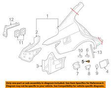 Infiniti NISSAN OEM 09-13 G37 Fender-Fuel Door Gas Cap Hatch Bumper 78837EG00A