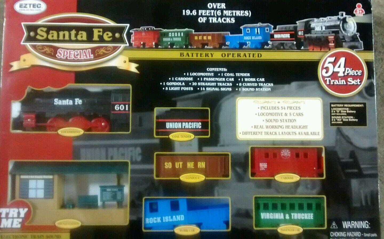 ESTEC SANTA FE TRAIN SET(Christmas)