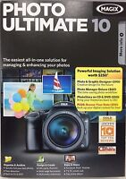 Photo Ultimate 10 - Photo & Graphic Designer+photo Manager Deluxe+photostory Dvd