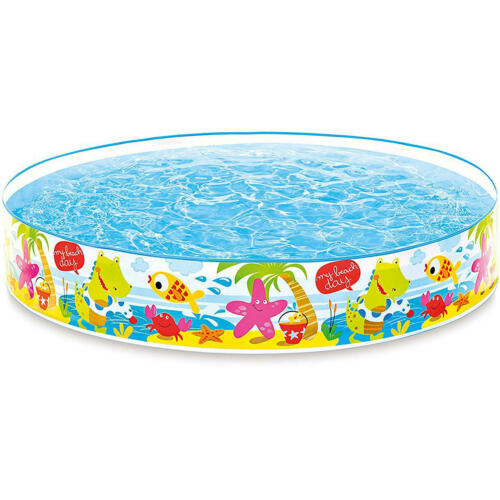 Snap Set Pool My Beach Day Planschbecken Schwimmbecken Kinderpool Ø 152 cm