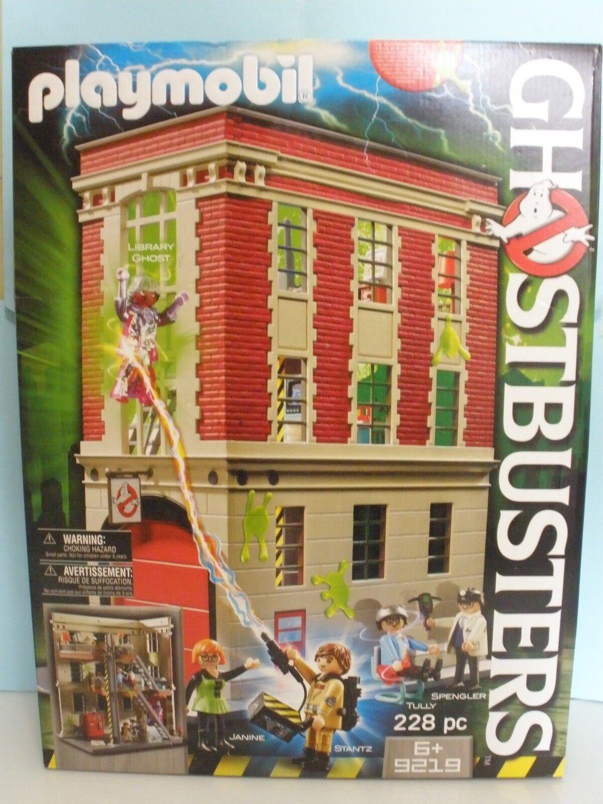 Playmobil Ghostbusters Cuartel general cazafantasmas ref 9219 2