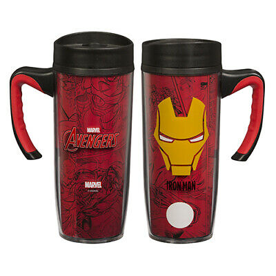 Marvel Mug Avengers Handled Travel Cup Man Iron 530mlEbay Coffee BCxedo
