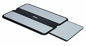 AIDATA LAP005 LapPad Portable Lapdesk Notebook Stand With Retractable Mouse Tray