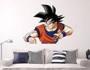 Dragon Ball Z Goku DBS Wall Decal Sticker Decor Vinyl HD Top - Dragon ball z wall decals