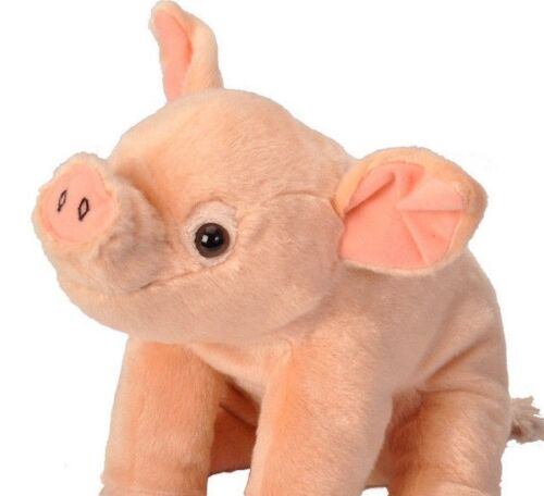 "CUDDLEKINS BABY PIG PLUSH SOFT TOY 12/"" STUFFED ANIMAL BY WILD REPUBLIC NEW"