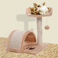 "Cat Tree 19"" Level Condo Furniture Pet Play House Scratching Post Kittens"