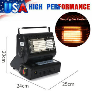 Outdoor Camping Gas Heater Gas Heating Stove Portable Dual Purpose Heater O7B1