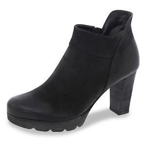 Stiefeletten Schwarz Damen Ankle Zu Details Plateau Boots Paul Schuhe Green IDEH2YW9