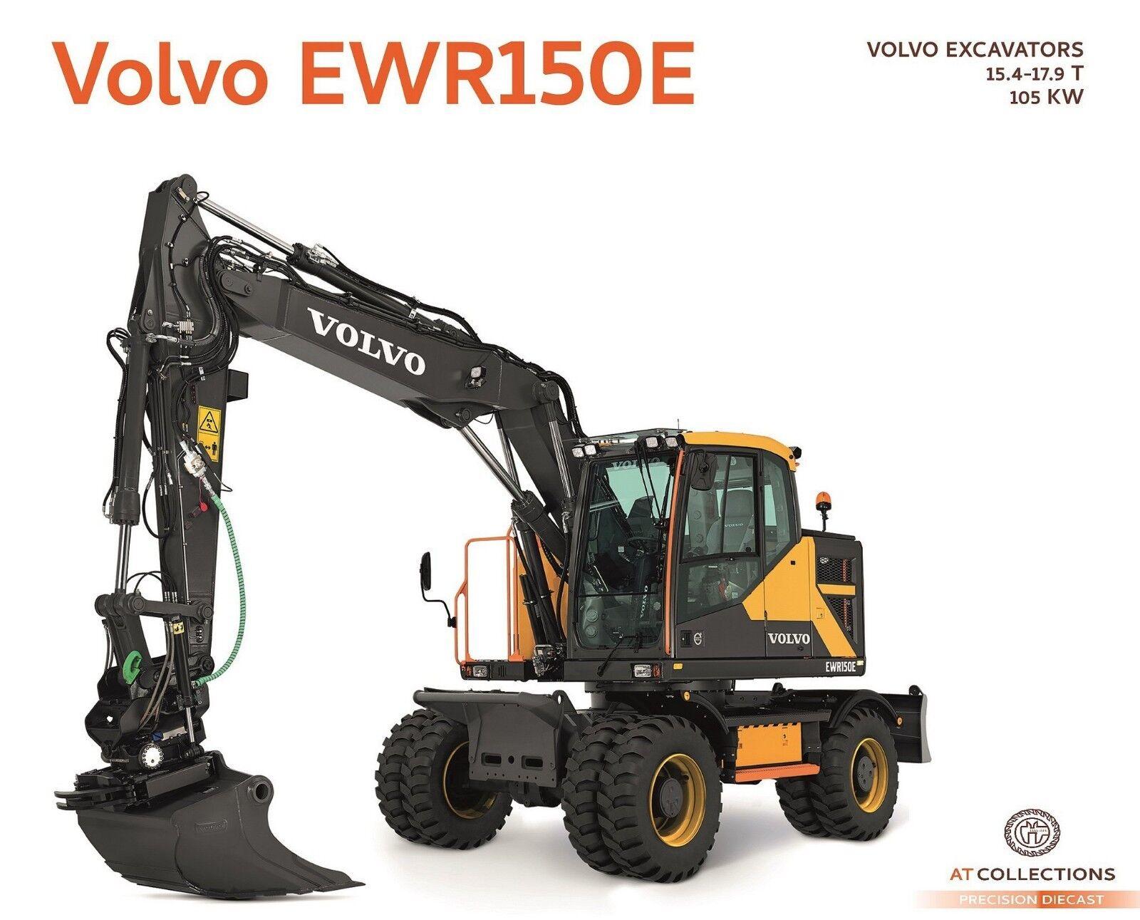 AT Collections 1 32 Volvo EWR150E Excavator Steelwrist Tiltredator AT3200101