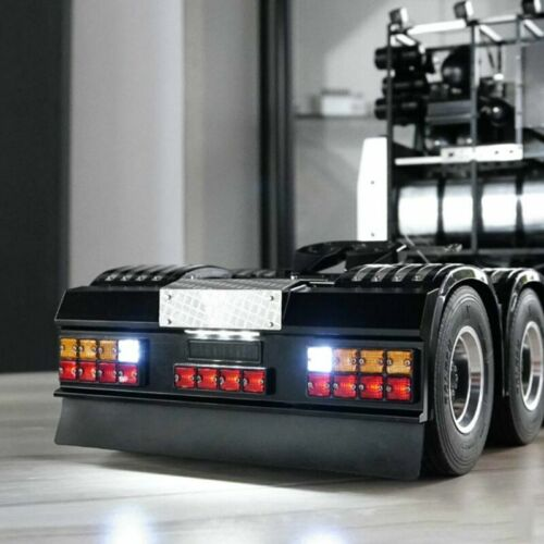 Für 1//14 Tamiya Scania R620 R470 LESU LED Signallicht Lampe mit Rear Stoßstange