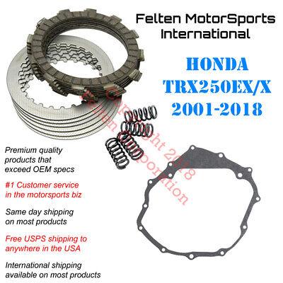 CLUTCH FRICTION PLATES and GASKET KIT Fits HONDA TRX250X 2X4 2009-2018