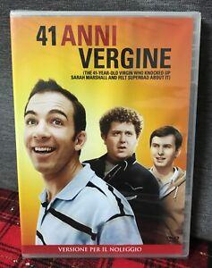 41 anni vergine (2010) DVD Rent Nuovo Sigillato Quarantuno Come Foto