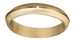 Goldring 585 Ehering Trauring massiver Bandring Gold Gelbgold od