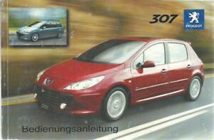 PEUGEOT-307-Betriebsanleitung-2005-Bedienungsanleitung-Handbuch-Bordbuch-BA